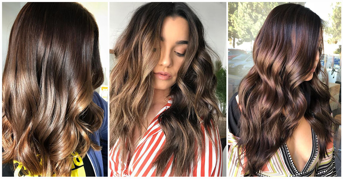 50 Fun Dark Brown Hair Ideas To Shake Things Up In 2019 Intended For Long Hairstyles Dark Hair (View 8 of 25)