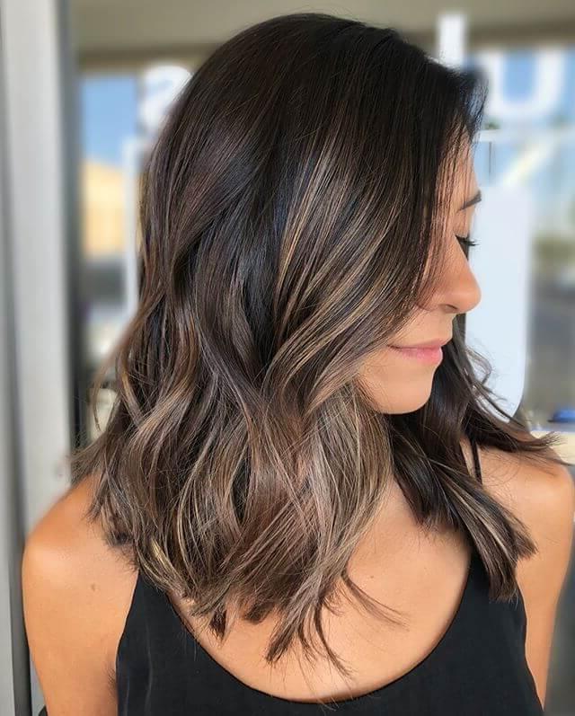 50 Fun Dark Brown Hair Ideas To Shake Things Up In 2019 Regarding Dark Brown Long Hairstyles (View 12 of 25)