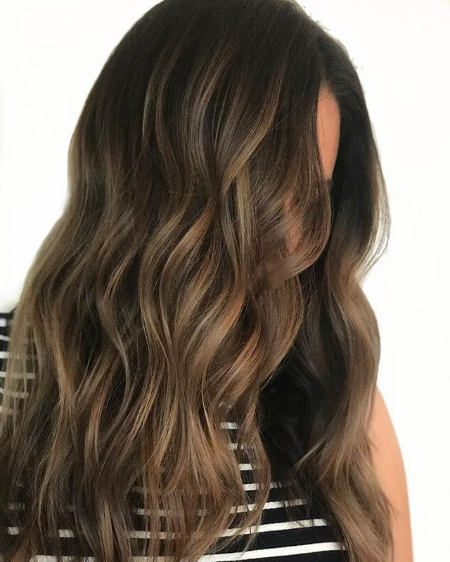 50 Fun Dark Brown Hair Ideas To Shake Things Up In 2019 Regarding Long Hairstyles Dark Brown (View 8 of 25)
