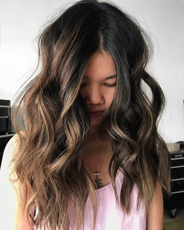 50 Fun Dark Brown Hair Ideas To Shake Things Up In 2019 Regarding Long Hairstyles Dark Hair (View 19 of 25)