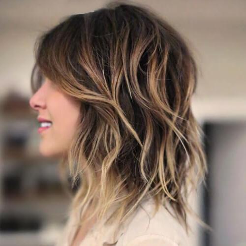 50 Funky Shag Haircuts | Hair Motive Hair Motive Within Long Jagged Hairstyles (View 25 of 25)