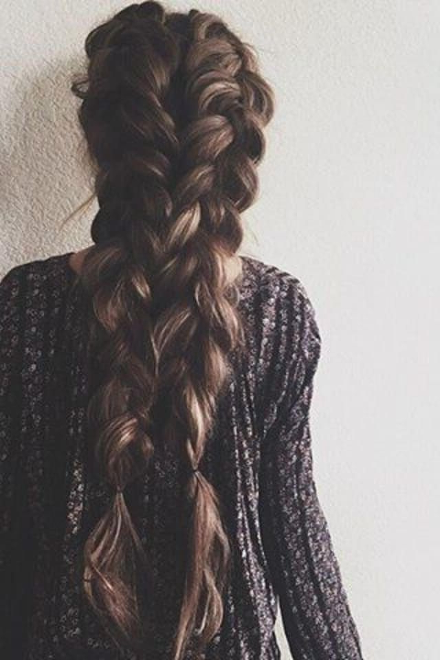 50 Gorgeous Braids Hairstyles For Long Hair | Fashion – Beauty Inside Braids For Long Thick Hair (View 1 of 25)