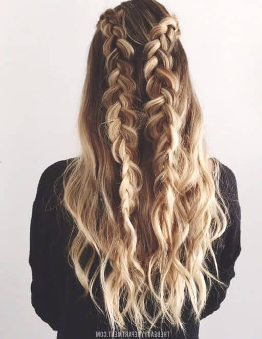 50 Gorgeous Braids Hairstyles For Long Hair Intended For Long Hairstyles With Braids (View 22 of 25)