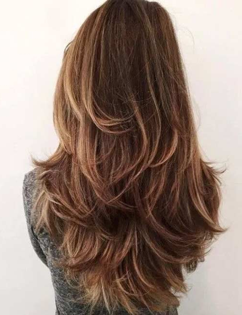 50 Gorgeous Long Layered Hairstyles In Layered With A Flip For Long Hairstyles (View 2 of 25)