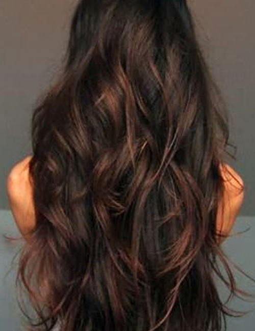 50 Gorgeous Long Layered Hairstyles Inside Long Feathered Layers For U Shaped Haircuts (View 7 of 25)