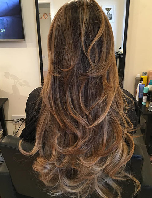50 Gorgeous Long Layered Hairstyles Inside Long Voluminous Ombre Hairstyles With Layers (View 23 of 23)