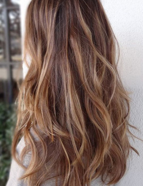 50 Gorgeous Long Layered Hairstyles Inside Soft Feathery Texture Hairstyles For Long Hair (View 7 of 25)