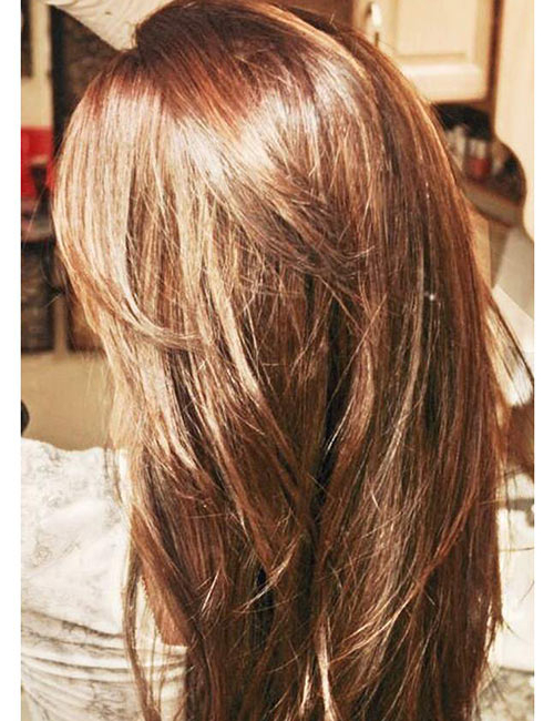 50 Gorgeous Long Layered Hairstyles Throughout V Cut Layers Hairstyles For Straight Thick Hair (View 17 of 25)