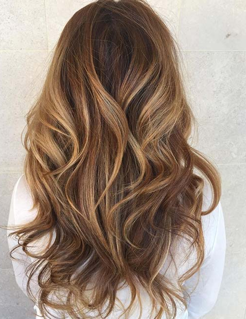 50 Gorgeous Long Layered Hairstyles With Long Hairstyles With Layers (View 23 of 25)