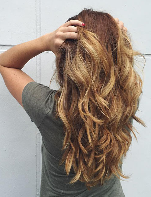 50 Gorgeous Long Layered Hairstyles With Long Layered Waves Hairstyles (View 4 of 25)
