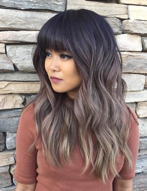 50 Gorgeous Long Layered Hairstyles With Regard To Black Long Hairstyles With Bangs And Layers (View 5 of 25)