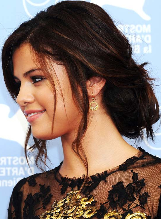 50 Gorgeous Short Updo Hairstyles Throughout Long Hairstyles Updos With Fringe (View 16 of 25)