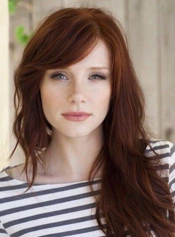 50 Gorgeous Side Swept Bangs Hairstyles For Every Face Shape Intended For Long Hairstyles With Side Fringe (View 23 of 25)
