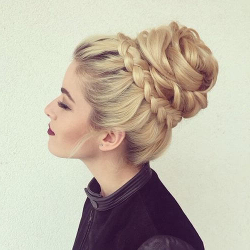 50 Graceful Updos For Long Hair | Hair Motive Hair Motive Regarding Romantic Prom Updos With Braids (View 16 of 25)