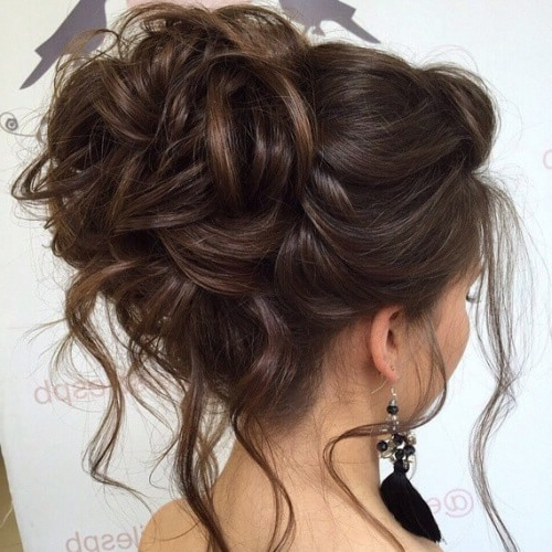 50 Graceful Updos For Long Hair | Hair Motive Hair Motive With Regard To Asymmetrical Knotted Prom Updos (View 14 of 25)
