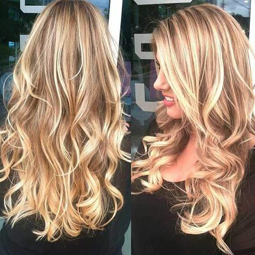 50 Hairstyles For Brown Hair With Lowlights And Highlights | Hair Intended For Long Hairstyles Highlights And Lowlights (View 12 of 25)