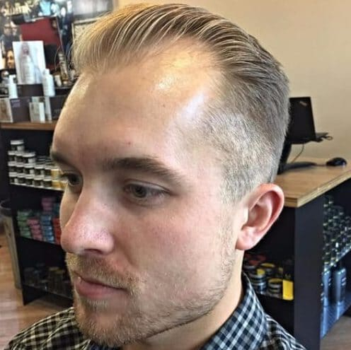 50 Hairstyles For Men With Receding Hairlines | Menhairstylist In Long Hairstyles Receding Hairlines (View 25 of 25)
