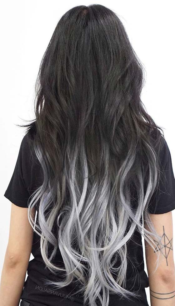 50 Hottest Ombre Hair Color Ideas For 2018 – Ombre Hairstyles Regarding Long Hairstyles With Color (View 15 of 25)