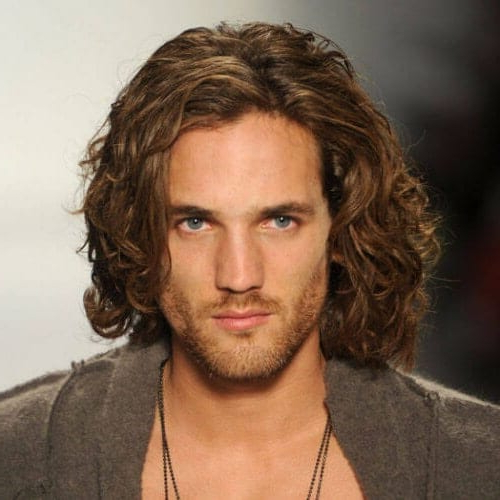 50 Impressive Hairstyles For Men With Thick Hair – Men Hairstyles World With Regard To Long Hairstyles At (View 10 of 25)