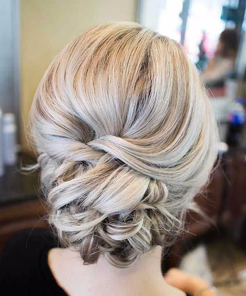 50 Inspirational Prom Updos – My New Hairstyles Intended For Low Pearled Prom Updos (View 15 of 25)