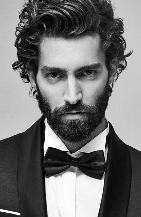 Featured Photo of Mens Long Curly Haircuts