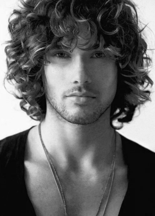 50 Long Curly Hairstyles For Men – Manly Tangled Up Cuts In Mens Long Curly Haircuts (View 8 of 25)