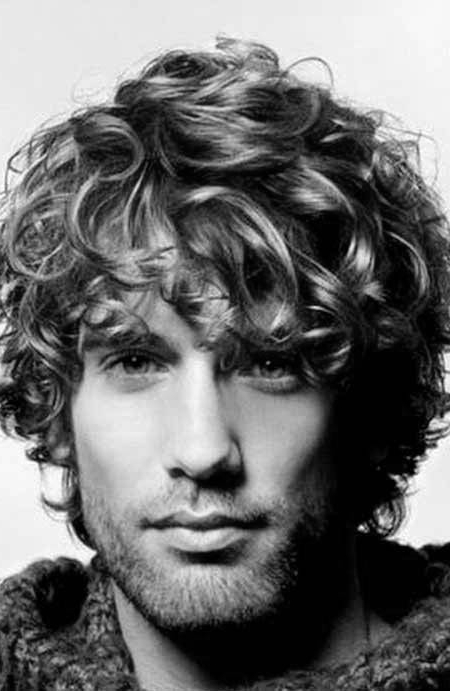 50 Long Curly Hairstyles For Men – Manly Tangled Up Cuts With Hairstyles For Men With Long Curly Hair (View 8 of 25)