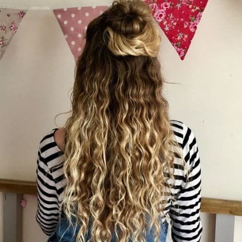 50 Long Curly Hairstyles | Hair Motive Hair Motive Throughout Long Layered Half Curled Hairstyles (View 23 of 25)