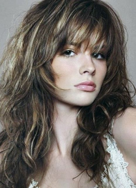50 Long Shag Haircuts | Hairstyles Update Within Shaggy Long Layers Hairstyles (View 10 of 25)