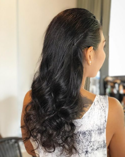 50 Party Hairstyles That Are Fun & Chic For 2019 Intended For Long Hairstyles For Cocktail Party (View 5 of 25)