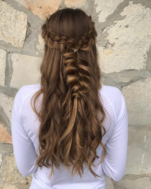 50 Party Hairstyles That Are Fun & Chic For 2019 Pertaining To Long Hairstyles For A Party (View 10 of 25)