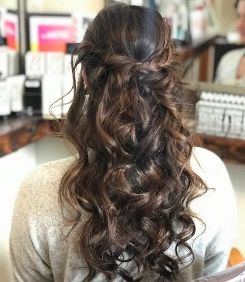 50 Party Hairstyles That Are Fun & Chic For 2019 Within Long Hairstyles For Parties (View 2 of 25)