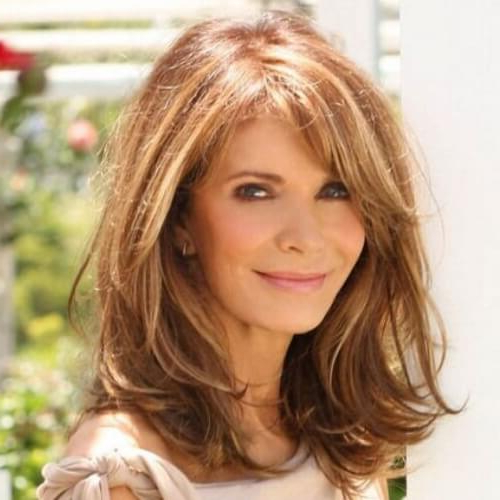 50 Phenomenal Hairstyles For Women Over 50 | Hair Motive Hair Motive Intended For Long Hairstyles At (View 24 of 25)