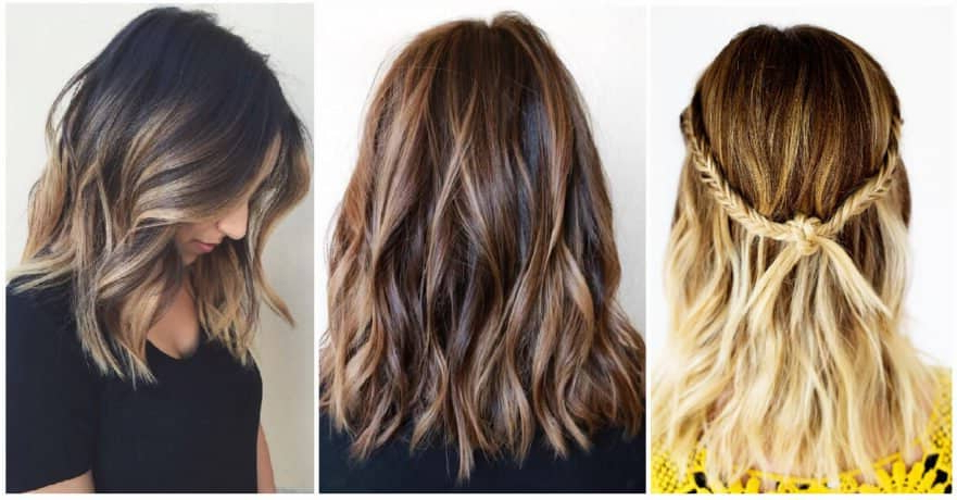 50 Pretty Chic Medium Lenght Hairstyles For 2019 With Medium To Long Hairstyles With Chunky Pieces (View 10 of 25)