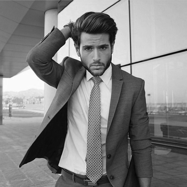 50 Professional Hairstyles For Men – A Stylish Form Of Success For Long Hairstyles That Look Professional (View 20 of 25)