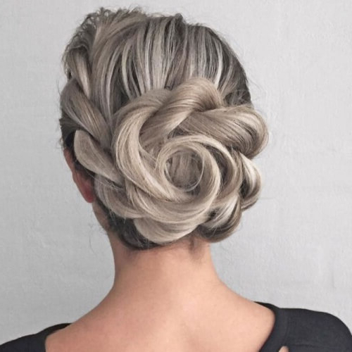50 Prom Hairstyles For Short Hair | Hair Motive Hair Motive Intended For Asymmetrical Knotted Prom Updos (View 25 of 25)