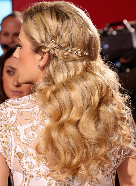 50 Red Carpet Hairstyles With Regard To Long Hairstyles Red Carpet (View 10 of 25)