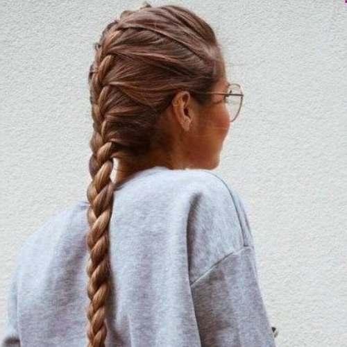 Featured Photo of Casual Braids For Long Hair