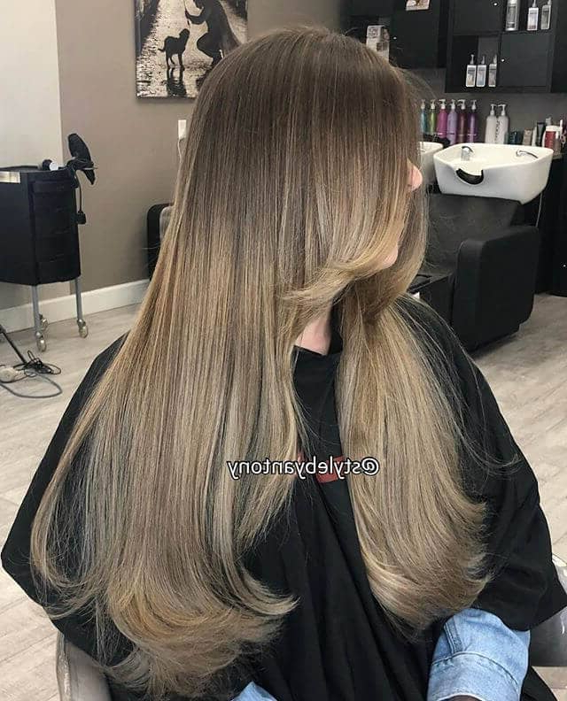 50 Sexy Long Layered Hair Ideas To Create Effortless Style In 2019 For Black And Brown Layered Haircuts For Long Hair (View 23 of 25)