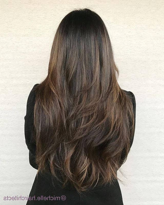 50 Sexy Long Layered Hair Ideas To Create Effortless Style In 2019 Inside Long Hairstyles Without Layers (View 14 of 25)