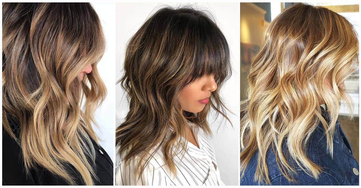 50 Sexy Long Layered Hair Ideas To Create Effortless Style In 2019 Throughout Choppy Chestnut Locks For Long Hairstyles (View 11 of 25)