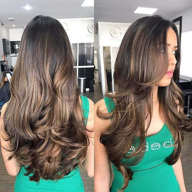 50 Sexy Long Layered Hair Ideas To Create Effortless Style In 2019 With Regard To Black And Brown Layered Haircuts For Long Hair (View 16 of 25)