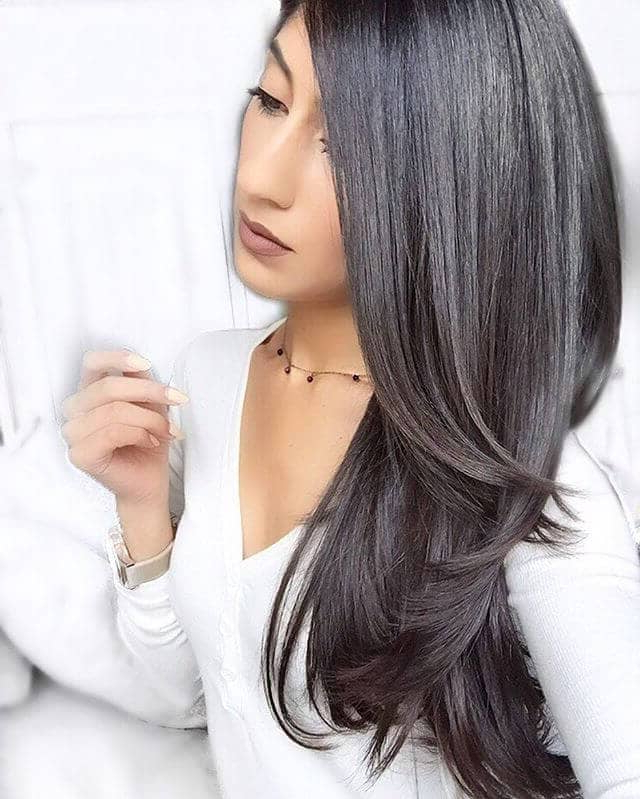 50 Sexy Long Layered Hair Ideas To Create Effortless Style In 2019 With Regard To Long Layered Black Haircuts (View 21 of 25)