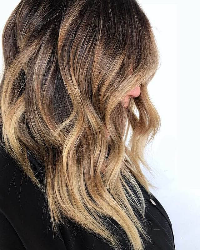 50 Sexy Long Layered Hair Ideas To Create Effortless Style In 2019 Within Edgy V Line Layers For Long Hairstyles (View 16 of 25)
