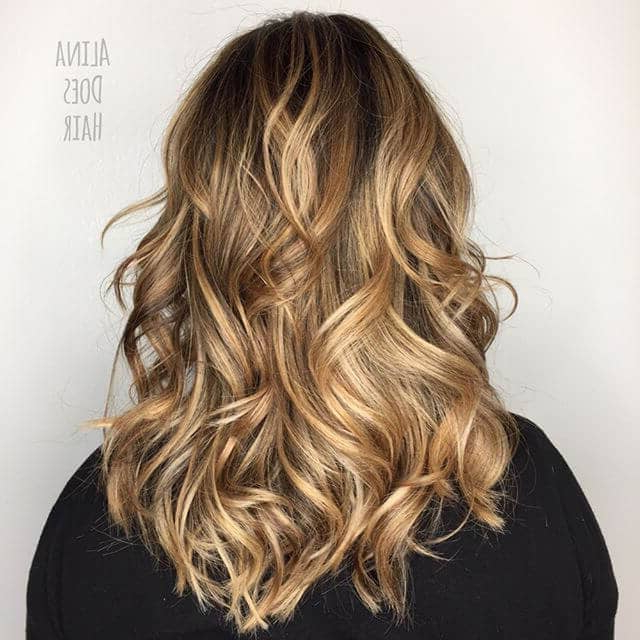 50 Sexy Long Layered Hair Ideas To Create Effortless Style In 2019 Within Light Layers Hairstyles Enhanced By Color (View 12 of 25)