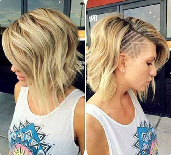 50 Shaved Hairstyles That Will Make You Look Like A Badass Throughout Shaved And Long Hairstyles (View 5 of 25)