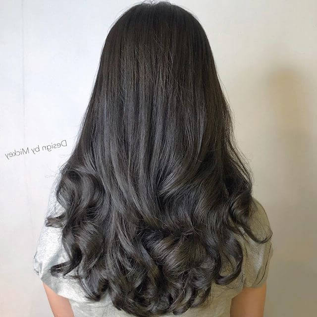 50 Stunning Perm Hair Ideas To Help You Rock Your Curls In 2019 With Regard To Long Hairstyles Permed Hair (View 24 of 25)