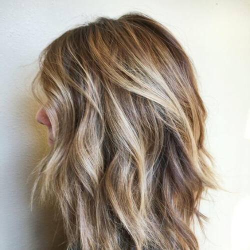 50 Timeless Medium Length Haircuts For Thick Hair   All Women Hairstyles Intended For Long Haircuts For Thick Hair (View 16 of 25)