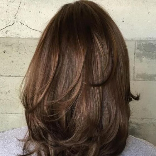 50 Timeless Medium Length Haircuts For Thick Hair   All Women Hairstyles With Long Haircuts For Thick Hair (View 18 of 25)