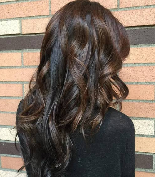 50 Timeless Ways To Wear Layered Hair And Beat Hair Boredom Pertaining To Long Hairstyles V In Back (View 12 of 25)